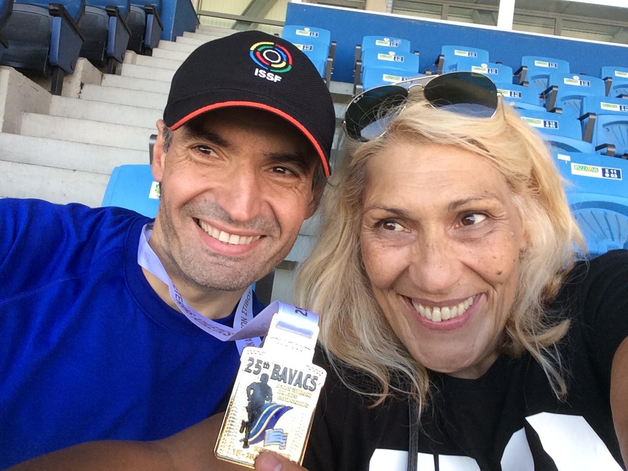 Νίκος Μιχαλόπουλος Χρυσό μετάλλιο Ακόντιο Βαλκανικοί Αγώνες 2015