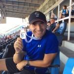 ΝΙΚΟΣ ΜΙΧΑΛΟΠΟΥΛΟΣ: Η σύζυγός του Άννα Βερούλη του απένειμε το χρυσό μετάλλιο στον ακοντισμό στους Βαλκανικούς αγώνες Στίβου Masters!