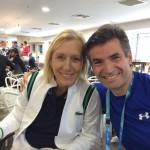 ΜΕΛΒΟΥΡΝΗ-ΑΥΣΤΡΑΛΙΑ 2016 AUSTRALIAN OPEN ΜΕ ΤΗΝ ΜΑΡΤΙΝΑ ΝΑΒΡΑΤΙΛΟΒΑ