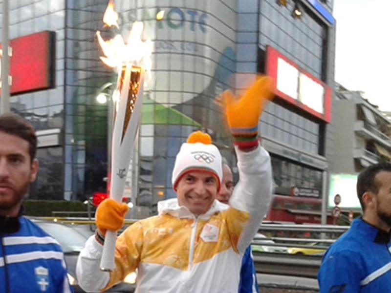 Ολυμπιακή Λαμπαδηδτομία 2018