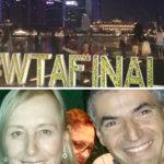 Ο ΝΙΚΟΣ ΜΙΧΑΛΟΠΟΥΛΟΣ ΣΤΟ WTA FINALS, ΣΤΗ ΣΙΓΚΑΠΟΥΡΗ, ΜΕ ΤΗ ΘΡΥΛΙΚΗ ΜΑΡΤΙΝΑ ΝΑΒΡΑΤΙΛΟΒΑ