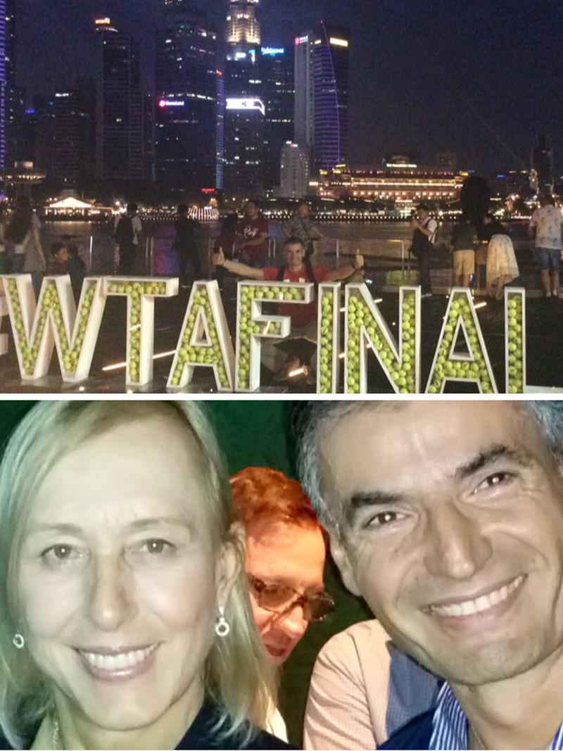 Ο ΝΙΚΟΣ ΜΙΧΑΛΟΠΟΥΛΟΣ ΣΤΟ WTA FINALS ΣΤΗ ΣΙΓΚΑΠΟΥΡΗ