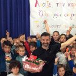 Παγκόσμια Ημέρα Παιδικού Βιβλίου και ο συγγραφέας Νίκος Μιχαλόπουλος κοντά στους μαθητές του Πηλίου